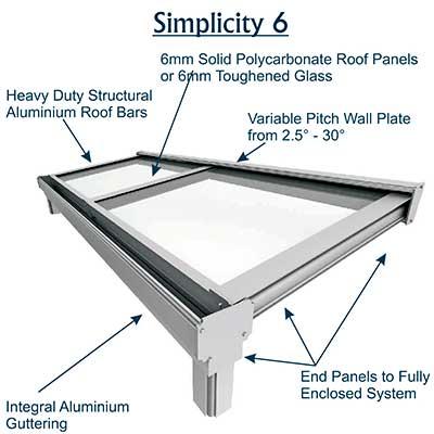 glass veranda design installation company simplicity 6 range rh zenithverandas co uk Vacuum Bags Upright Vacuum